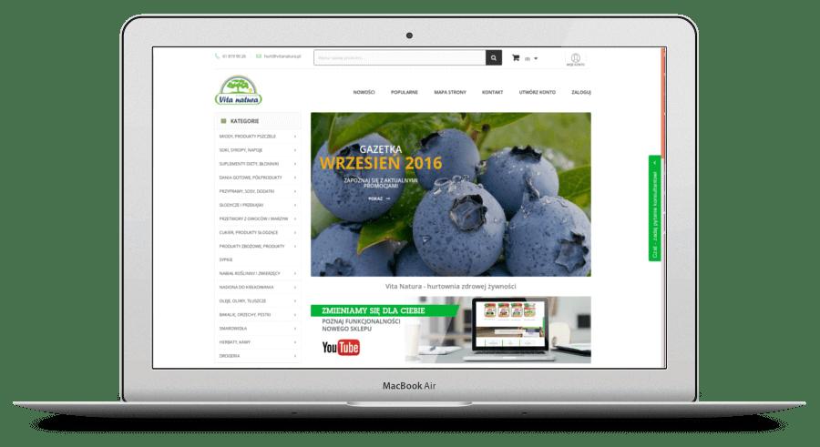 hurtownia zdrowej żywności sklep b2b